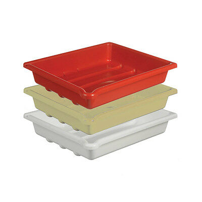 """Set of 3 Darkroom Developing Trays for 12x10"""" (30x25cm) Prints. Plastic Dishes."""