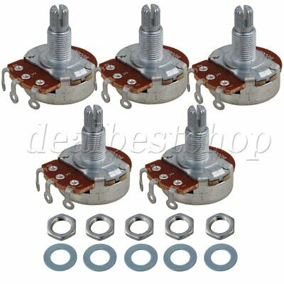 5 FULL SIZE B-500K B500K POT POTENTIOMETER For Guitar Bass