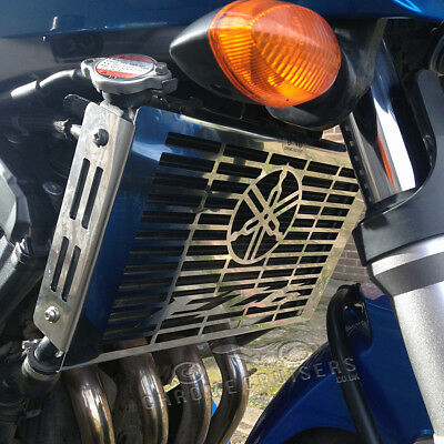 Yamaha Fz6 S1 (2004 - 2007) Stainless Steel Radiator Cover Guard Grill