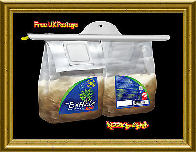 Exhale CO2 Bags For Grow Tents Hydroponics Homegrown Yield Booster