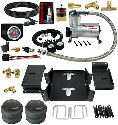 Towing Air Bag Kit With In Cab Control 1994 - 02 Dodge Ram 2500 Over Load Level