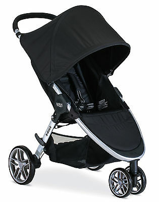 Britax 2017 B-Agile 3 Stroller in Black Brand New! Free Shipping!!
