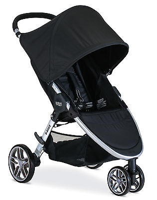 Britax 2017 B-Agile 3 Stroller in Black Brand New! Free Ground Shipping!