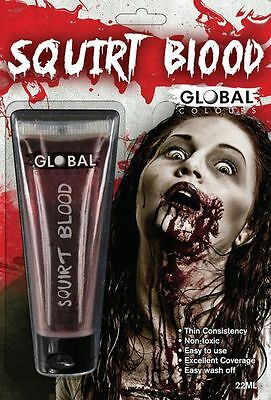 Global Squirt Blood - 22ml Blood Fancy Dress Party Accessories