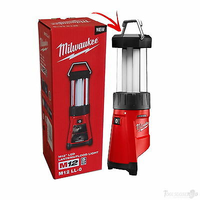 Milwaukee 12V M12Ll-0 Cordless Li-Ion 360° Led Lantern Flood Light Usb Au Stock
