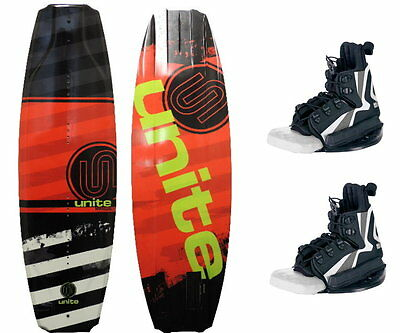 MANUAL Herren/ Kinder Wakeboard Package 135 red mit Explore Bindung JOBE