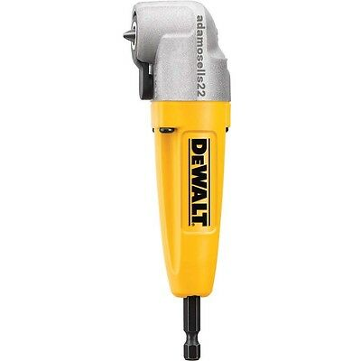 Dewalt Compact Right Angle Impact Drill Driver Attachment Magnetic Sure Set