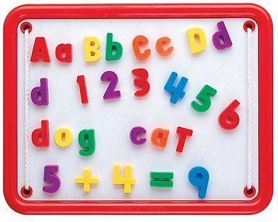 Educational Insights Magnetic Alphabet and Numbers Magnet Learning Preschool