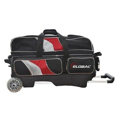 900Global Deluxe 3 Ball Roller Bowling Bag