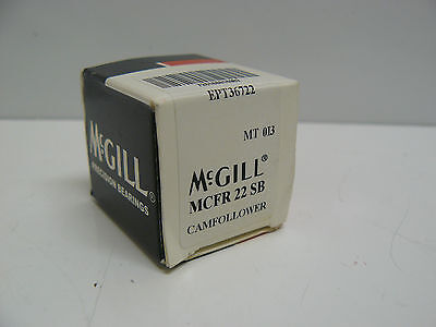 New Mcgill Precision Bearings Mcfr 22 Sb Cam Follower 22Mm