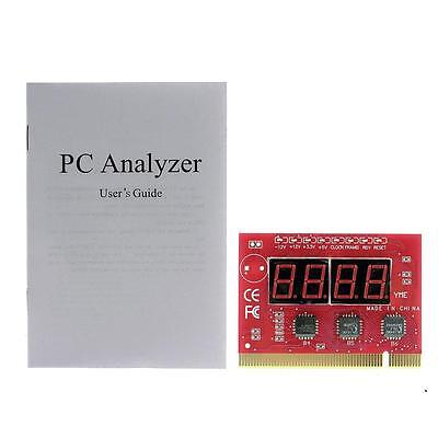 High Quality LED 4 Digit PCI PC Diagnostic Analyzer Card Motherboard Post Tester