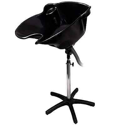 Portable Salon Deep Basin Shampoo Sink Drain Black Salon Chair Barber Chair