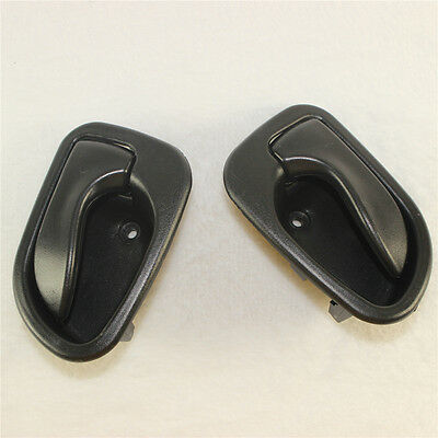 BLACK INSIDE DOOR HANDLE FRONT REAR LEFT RIGHT Fit For HYUNDAI Accent 1995-1999