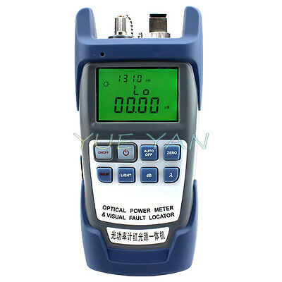 New All-in-One Optical Power Fiber Meter & 10mW Visual Fault Locator