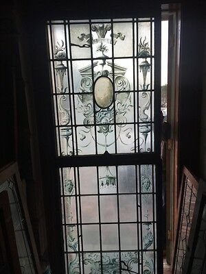 Sg 419 Antique Double Hung Art Deco Theater Window Amazing