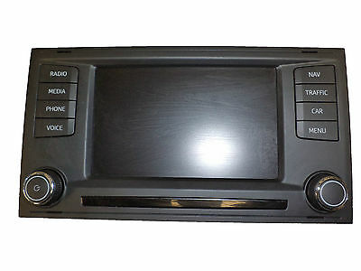 Seat Leon 2013-2016 Touch Screen Navigation Display Unit 5F0919603A