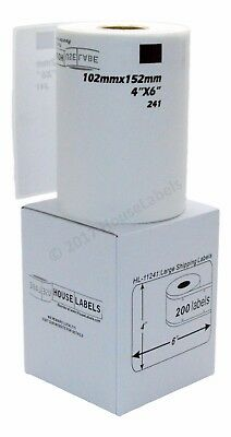 1 Roll of DK-1241 Brother-Compatible Shipping Labels [BPA FREE]