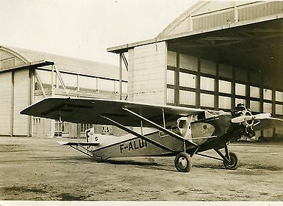 """L'AVION FARMAN de Maryse HILZ"" Photo originale G. DEVRED (Agence ROL) 1932"