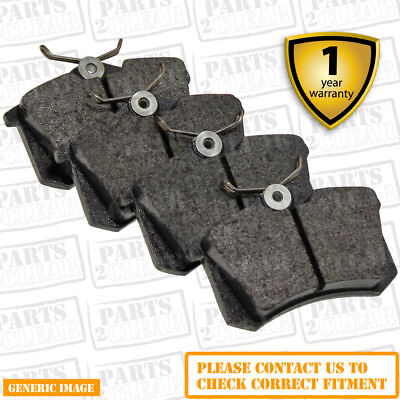 Rear Brake Pads DBP565 OE Quality - Full Axle Set