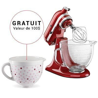 KitchenAid Architect Stand Mixer 5 Qt - Candy Apple Red