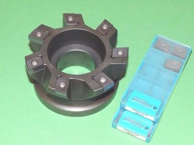 "INGERSOLL PUNCH-IN 4"" Indexable Plunge Milling Cutter w/ Inserts CHU-4001958R01"