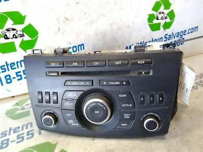 12 13 Mazda 3 Audio Equipment 8181135