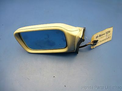 US Made Door Mirror Glass Replacement Driver Side For BMW M3 88-91