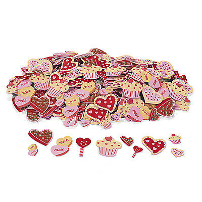 500 COOKIE & CANDY self adhesive stickers Valentine's Day Decor Gift Favor CRAFT