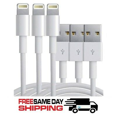 3-Pack USB Sync Data Charging Charger Cables Cord fits Apple iPhone 5 5C 6 7 8 X