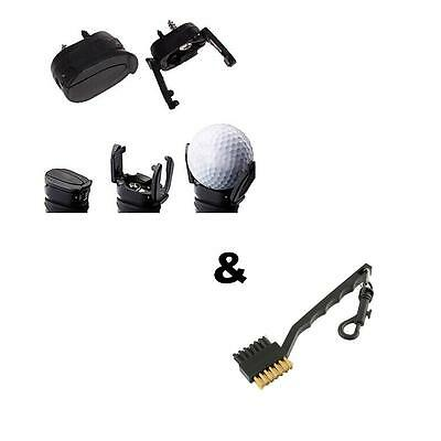 New Golf Ball Pick Up Saver Claw Putter Grabber Retriever & Cleaning Brush Set