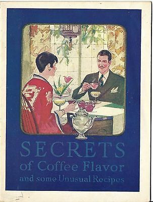 Cheek - Neal Coffee Co. Maxwell House 24 page Booklet 1927 Copyright
