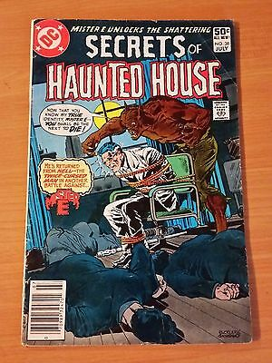 Secrets of Haunted House #38 ~ FINE FN ~ 1981 DC Comics