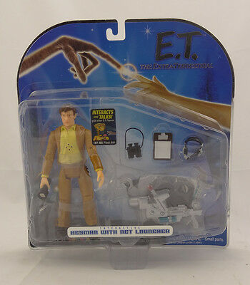 E.t. Extra Terrestrial ~ Interactive Keyman With Net Launcher ~ 2001 39200 ~ New