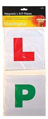 4 X Magnetic Learner Driver Driving L Plates &  Green Pass Plates Blackspur New