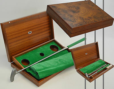 """mastro De Paja"" Set Golf Da Ufficio, Office Golf Set"