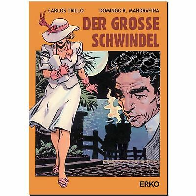 Der grosse Schwindel Carlos Trillo Domingo R. Mandafina GRAPHIC NOVEL COMIC LP