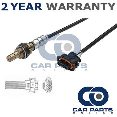 For Vauxhall Vectra C Mk2 1.8 16V 2005- 4 Wire Rear Lambda Oxygen Sensor Exhaust
