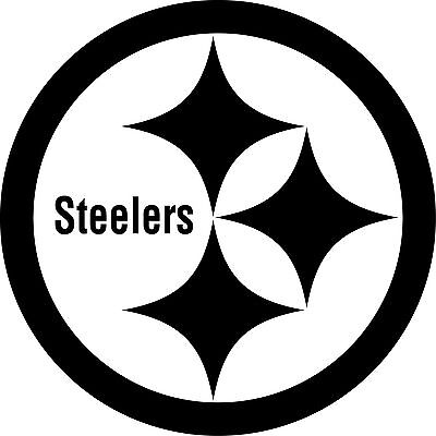 563e0870b PITTSBURGH STEELERS Logo ~ Window WALL DECAL   Vinyl Car STICKER ~ ANY  COLORS
