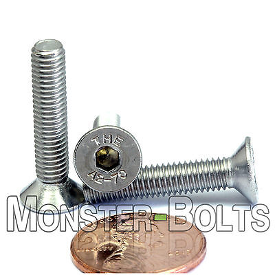 5mm / M5 - 0.8 – DIN 7991 Stainless Steel FLAT HEAD Socket Screws Countersunk A2