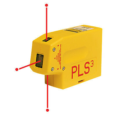 Pacific Laser Systems PLS PLS3 Self Leveling Plumb Laser Beam Level NEW!
