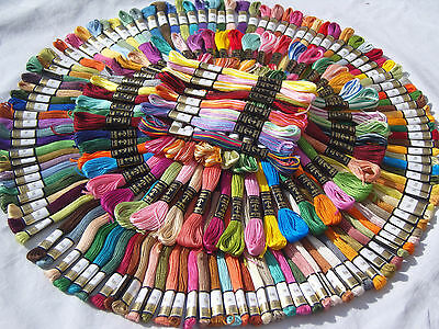 185 New ANCHOR Embroidery Threads, 185 good Colours Big Discount