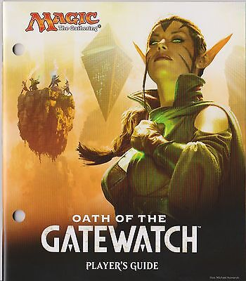 MTG Magic - Oath of the Gatewatch Player's Guide ( from fat pack )