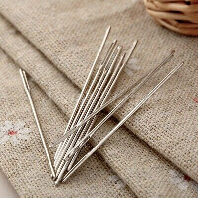 5* Large Eye Blunt Darning Needles Embroidery Tapestry Needle Sewing Craft Tool