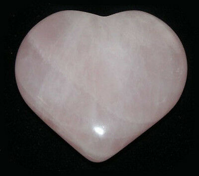 HOT STONE MASSAGE: Rose Quartz Heart 2.5cm