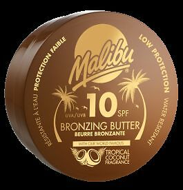 Malibu Bronzing Body Butter SPF 10 With Tropical Coconut Fragrance 250ml