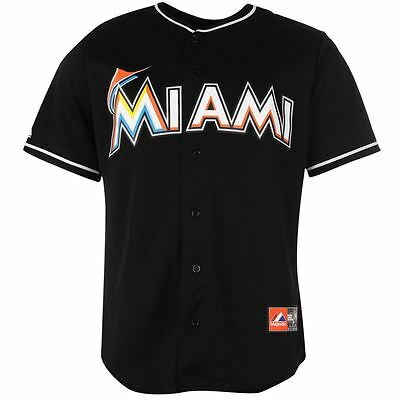 "Majestic Men's Miami Marlin Replica Baseball Jersey, Size: XL (Chest: 50-52"")"
