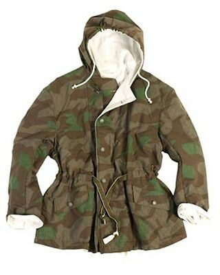 Wehrmacht WX WW German Army Winter Wendejacke Splintertarn Schneetarn snow camo