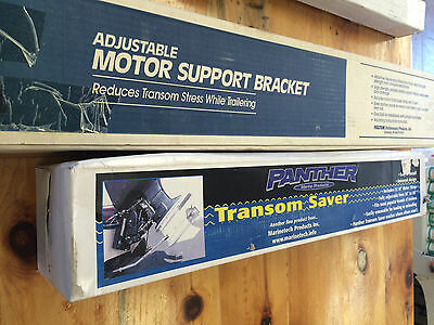 Fulton Adjustable Motor Support Bracket and Panther Transom Saver