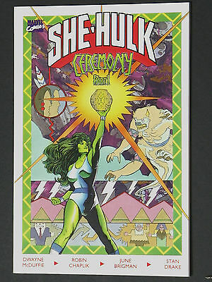 Sensational She-Hulk Ceremony #1 & #2 VF/NM 1989 High Grade Marvel Comic