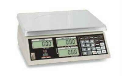 30 LB x 0.01 LB Rice Lake NTEP Price Computing Scale W Rechargeable Battery NEW
